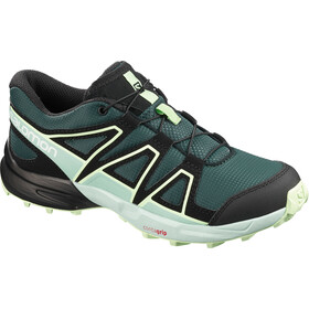 Salomon Speedcross Chaussures running Enfant, green gables/icy morn/patina green